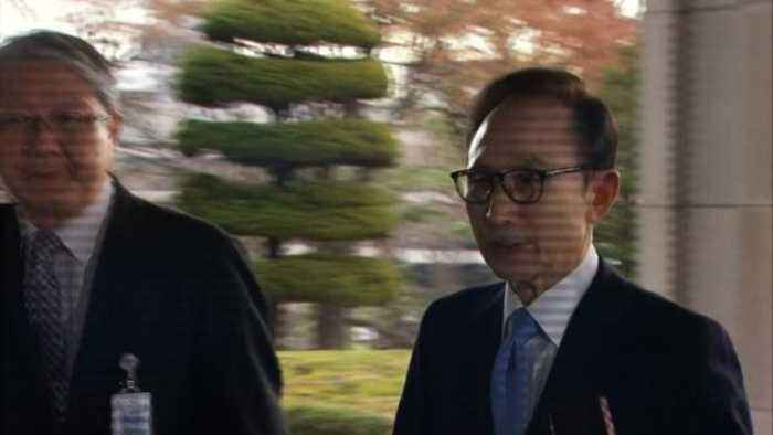 S. Korean ex-president Lee Myung-bak questioned on graft
