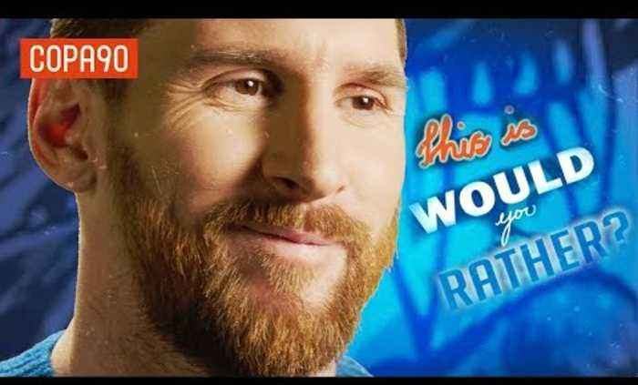 Leo Messi: Would You Rather?   #LoveItLiveIt with Pepsi Max