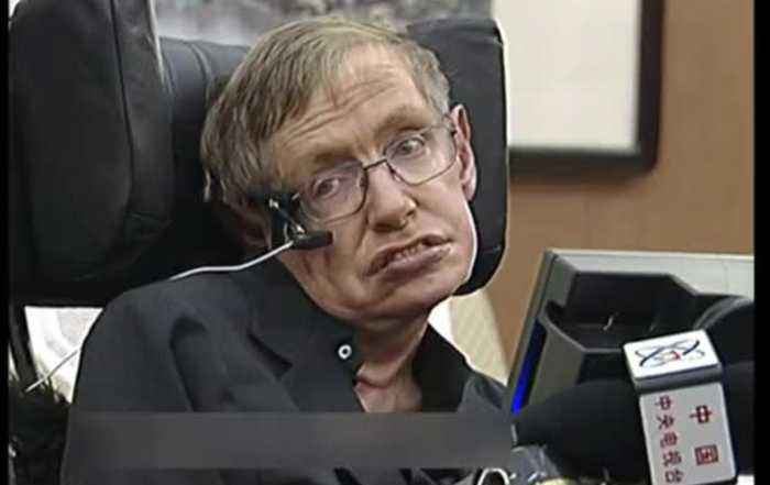 A Question From The Late Stephen Hawking...