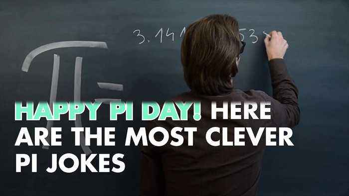 News video: Happy Pi Day! Here Are the Most Clever Pi Jokes