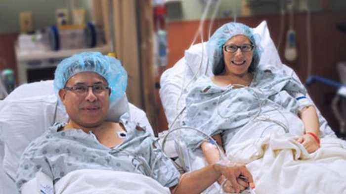 News video: Husband Donates Kidney to Wife Ahead of Their 23rd Anniversary