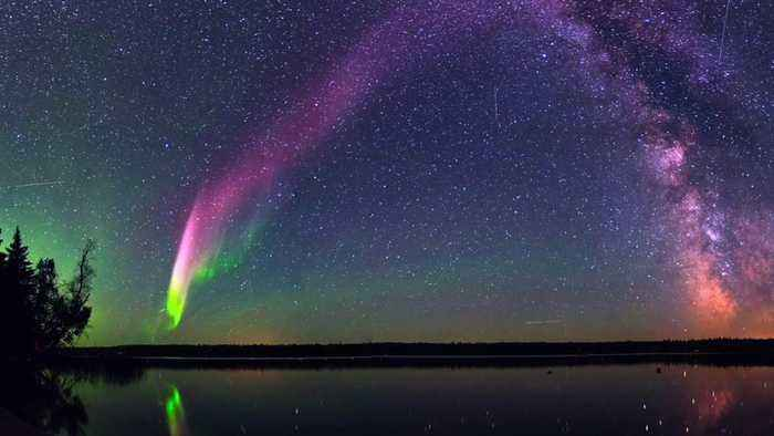 New Type Of Aurora Named 'Steve' Discovered