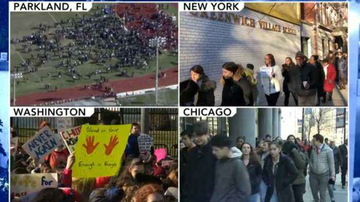 Students demand gun control in nationwide walkout