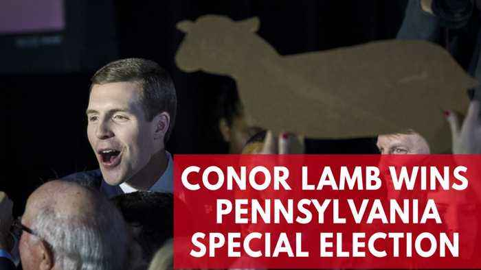 News video: Conor Lamb Wins Pennsylvania Special Election