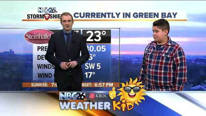 News video: Weather Kid 0314