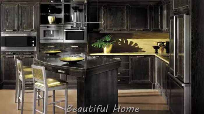News video: Modern dark kitchens Dark kitchen a pledge of originality - 2020 dream home