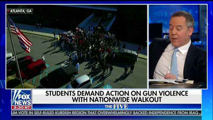 Fox News' Greg Gutfeld Slams National School Walkout for Being 'Pretty Exciting Field Trip'