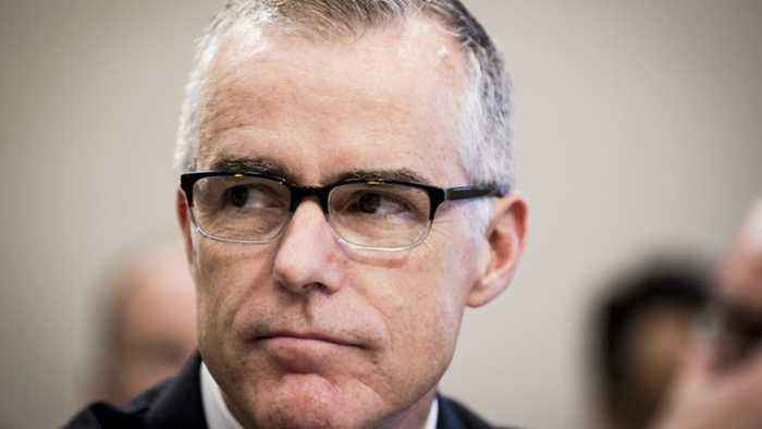 News video: FBI's Andrew McCabe Might Be Fired Days Before Retirement