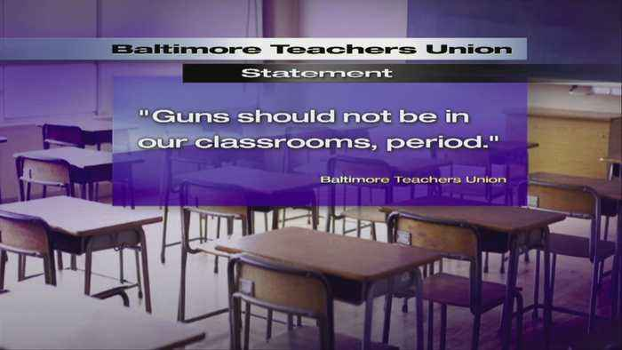 News video: Md. Teachers Unions Express Concerns Over Arming Teachers; Threatening Walkout