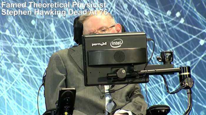 News video: Stephen Hawking, Famed Physicist, Dies At 76