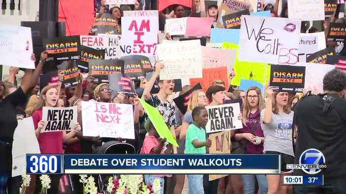 News video: Safety, effects of student protests discussed ahead of planned walkouts in Colorado