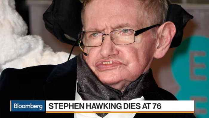 News video: British Physicist Stephen Hawking Dies at 76