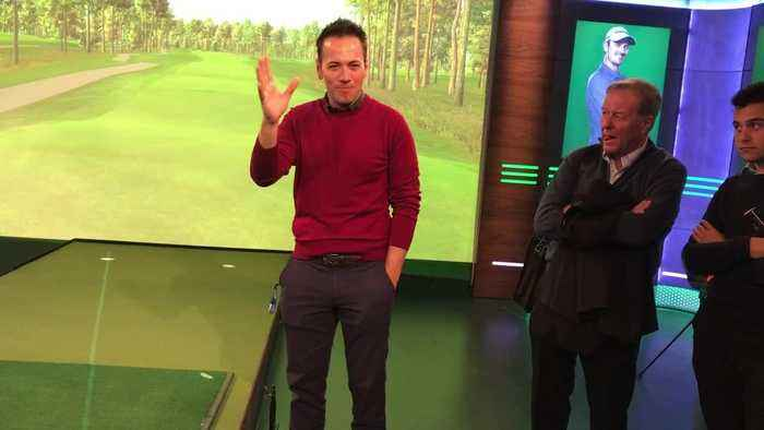 sky sports golf  behind the scenes