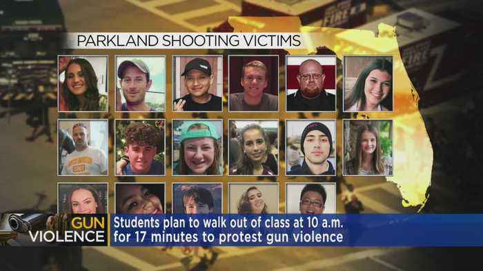News video: In Minn. & Across Nation, Students Plan Walk Out Protesting Gun Violence