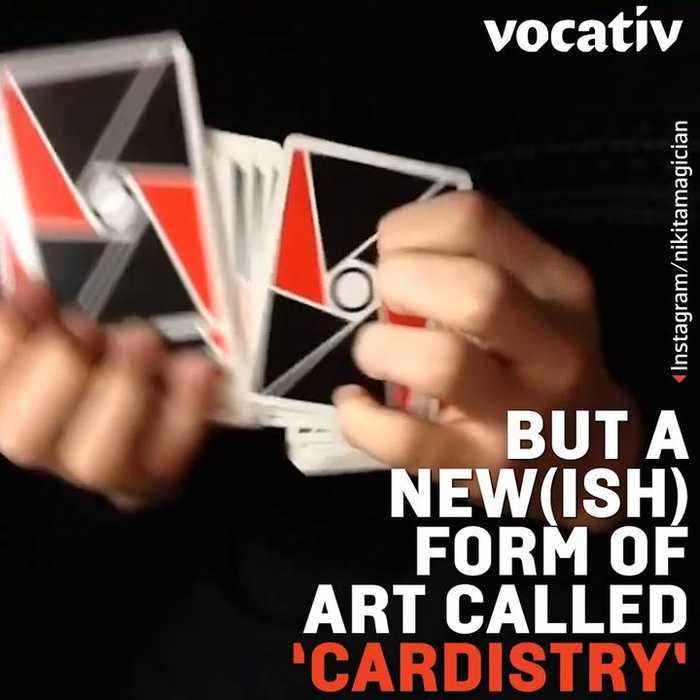 Meet the Mesmerizing, New Hobby of Cardistry