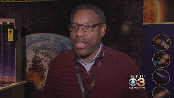 News video: Franklin Institute Astronomer Derrick Pitts Remembers Stephen Hawking