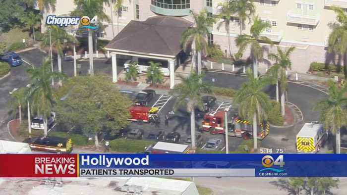 News video: Multiple People Transported To Hospital From Hollywood Assisted Living Facility
