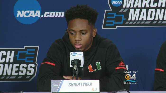 News video: Preparing For NCAA Tournament, Canes Players Pause To Reflect On School Walkouts