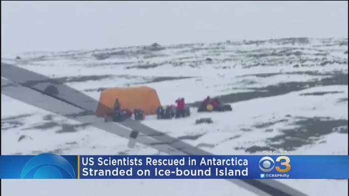 American Scientists Rescued From Ice-Bound Island In Antarctica