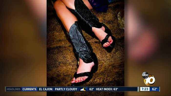News video: Cowboy boots turned into sandals?