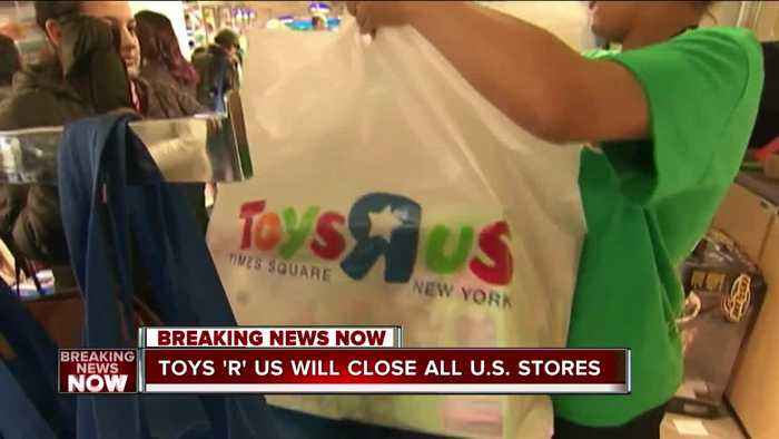 News video: Toys 'R' Us to close all remaining US stores, report says