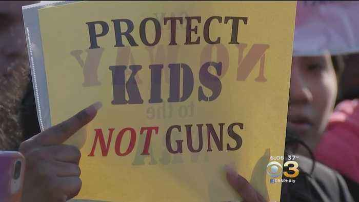 News video: Camden Academy Charter School Students Rally Against Gun Violence