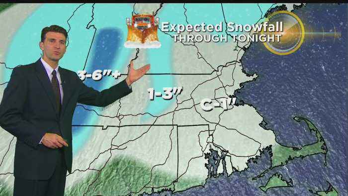 News video: WBZ Evening Forecast For March 14