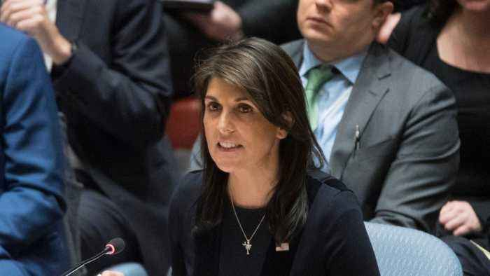 Nikki Haley Rips Russia Over UK Poisoning Case