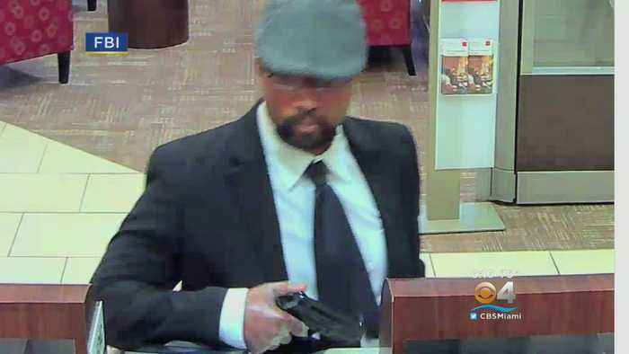 News video: FBI Searching For Serial Bank Robber Dubbed 'The Business Bandit'
