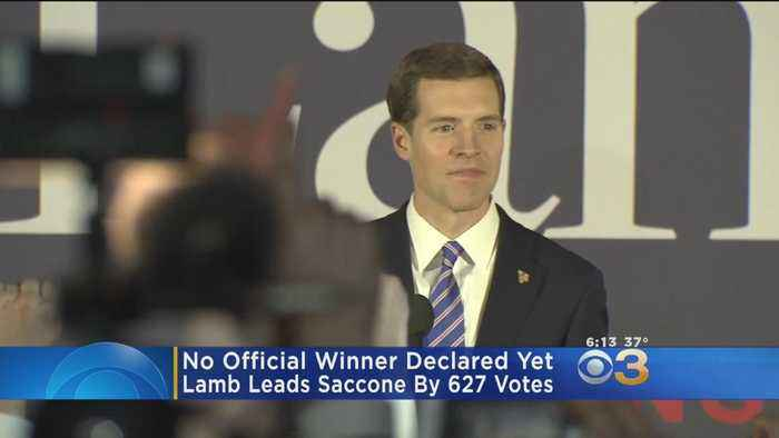 News video: NY Times Declares Conor Lamb Winner Of Pennsylvania Special Election
