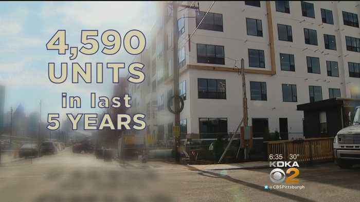 News video: Several Factors Driving Down Luxury Apartment Costs In Pittsburgh
