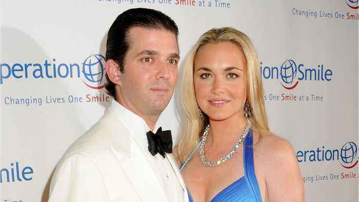 News video: Donald Trump Jr. And His Wife Rumored To Be Getting Divorced
