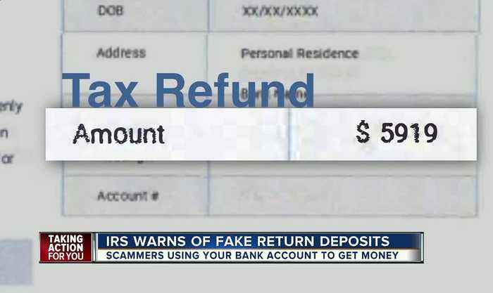 IRS warns of new tax refund scam