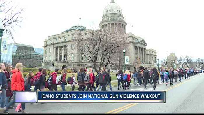 News video: Idaho students join national walkout against gun violence