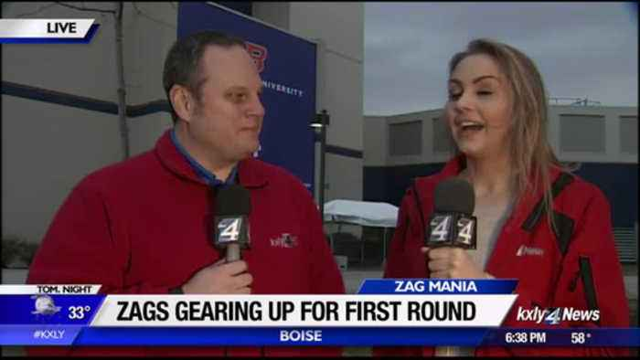 News video: Gonzaga men's basketball team prepares for Thursday's game
