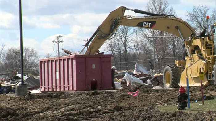 News video: Casey's in Marshall torn down