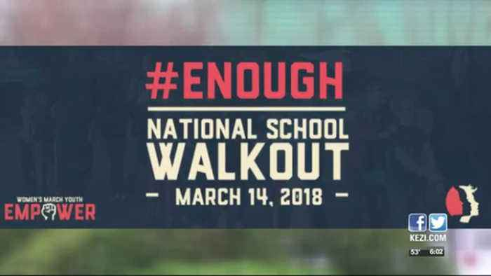 News video: Local students plan to take part in walkout