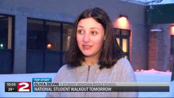 News video: Local students plan walk out