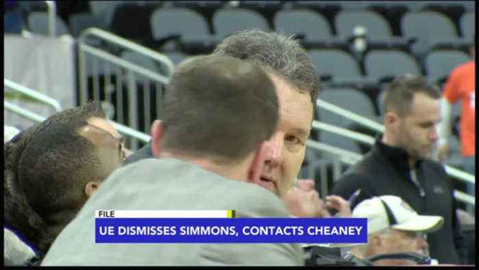 News video: UE Dismisses Marty Simmons, Contacts Calbert Cheaney