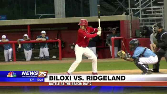 News video: High School Baseball: Biloxi vs. Ridgeland