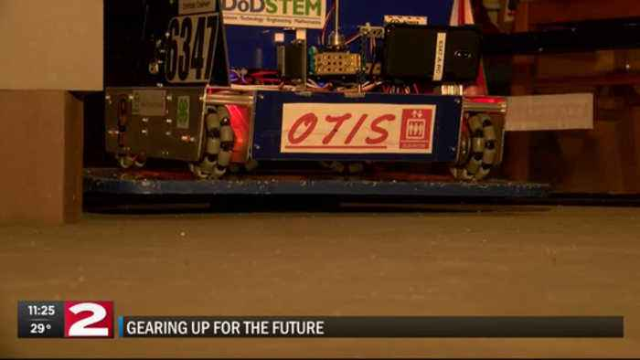 News video: Local robotics team gears up for the future