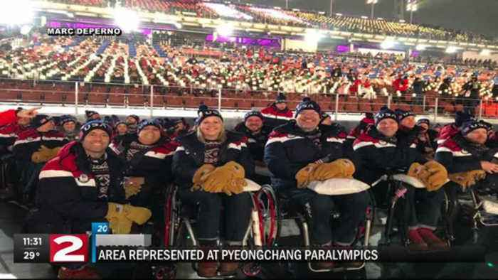 News video: DePerno at Pyeongchang