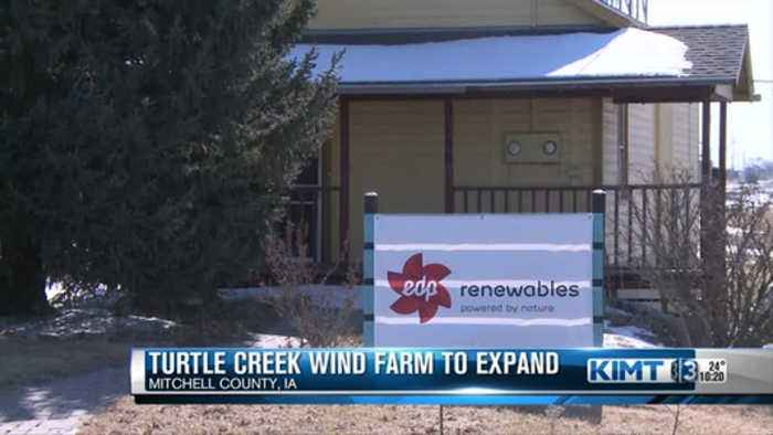 News video: Wind farm expanding