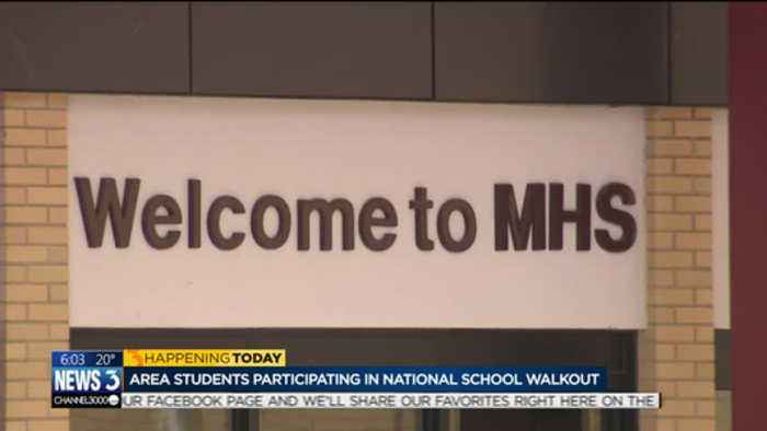 News video: Wisconsin students plan walkout, marches for gun safety