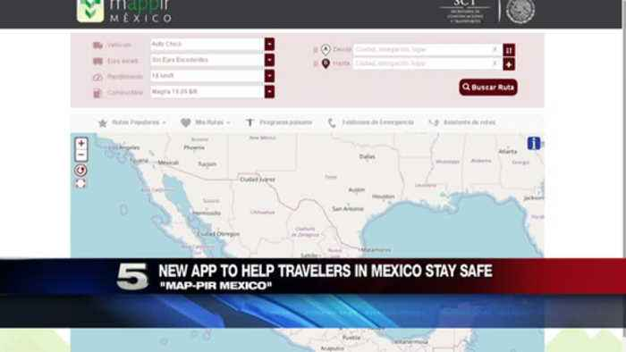 News video: New App to Help Travelers in Mexico Stay Safe