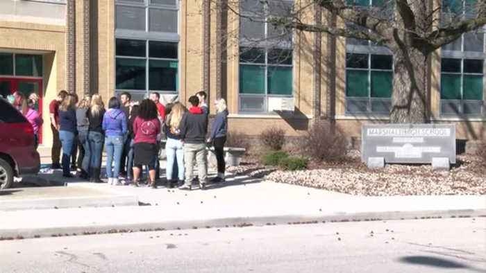 News video: Marshall Schools Walkout