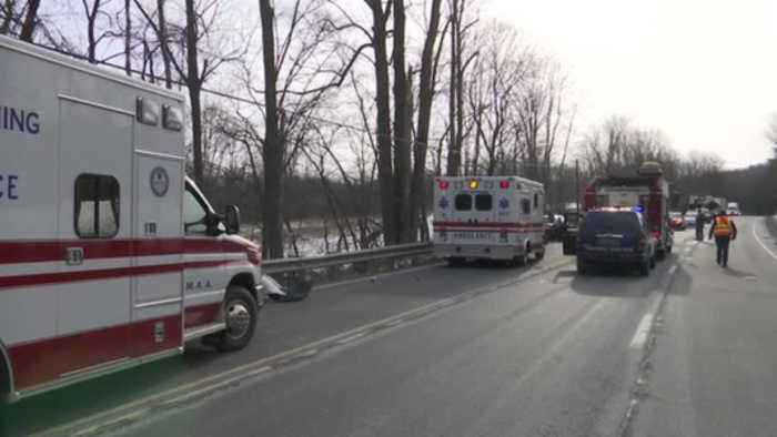 VIDEO: Fatal crash on Route 309