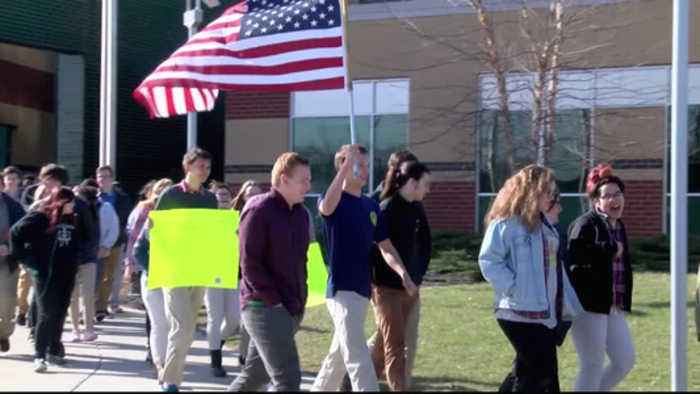 News video: national walkout day