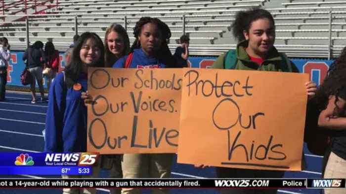 Pascagoula High School Walkout