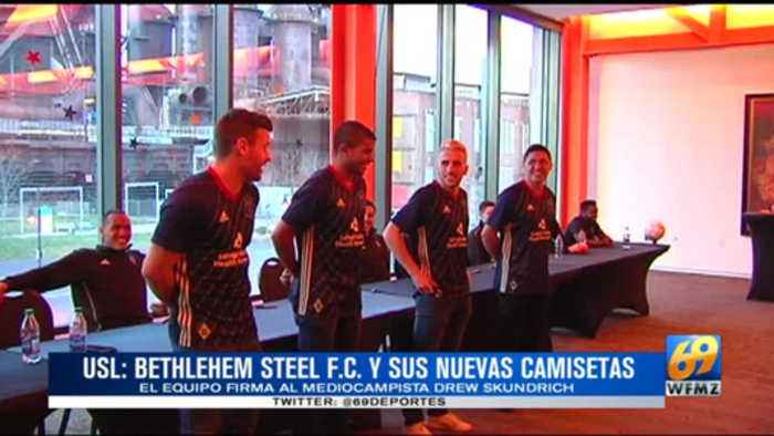 News video: Steel FC presenta sus camisetas